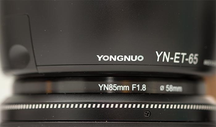 Lens Hood - Yongnuo 85mm F1.8 Canon