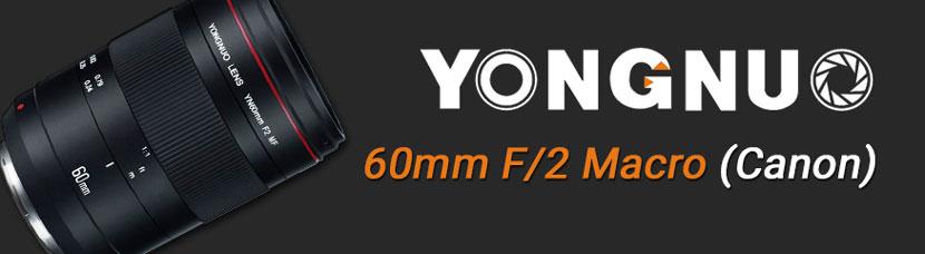 Banner YN60mm F/2 Macro Canon
