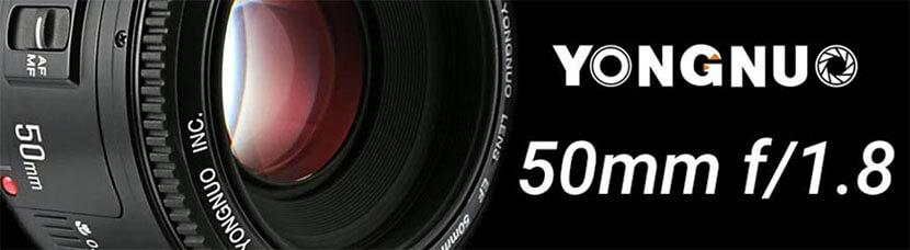 Banner YN50mm f/1.8