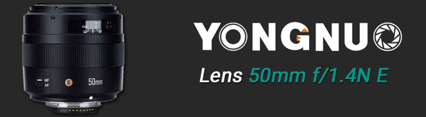 YN50mm f/1.4N E