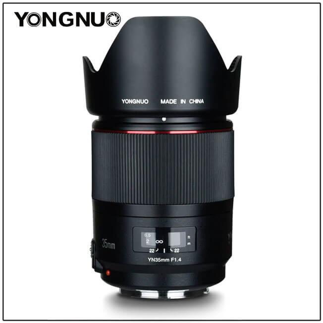Yongnuo 35mm f/1.4 Canon - 5