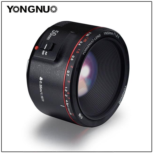 Yongnuo yn50mm f/1.8 II - 2