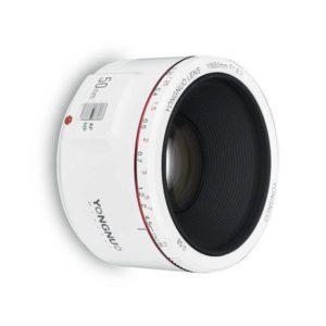yongnuo 50mm f/1.8 II white