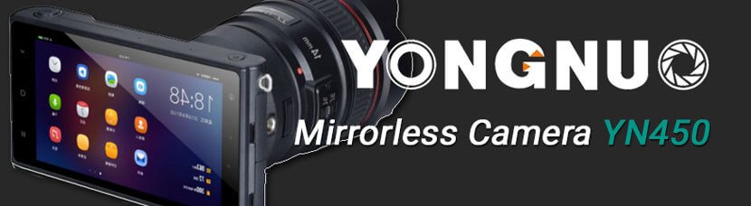 YN450 Mirrorless Camera from Yongnuo