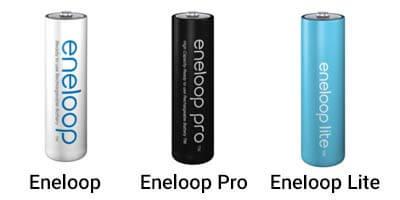 Eneloop Batteried Lineup