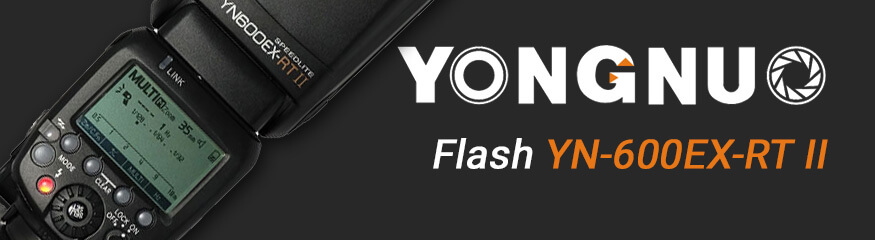 Bannière article flash yongnuo YN600EX-RT II
