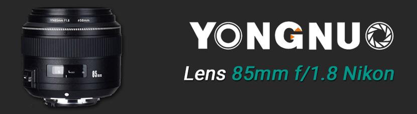 banner Yongnuo 85mm f/1.8N Nikon