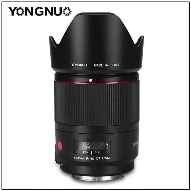 YN35mm F/1.4 DF UWM Canon -1