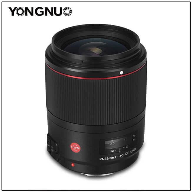 YN35mm F/1.4 DF UWM Canon - 2